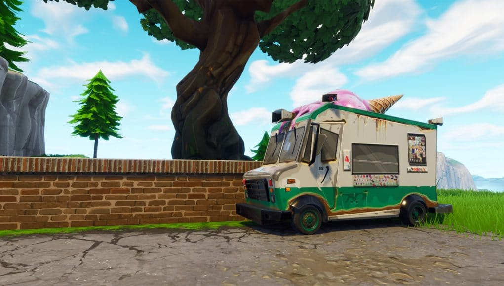 Ice Cream Truck Locations For The Week 4 Challenge Fortnite Intel