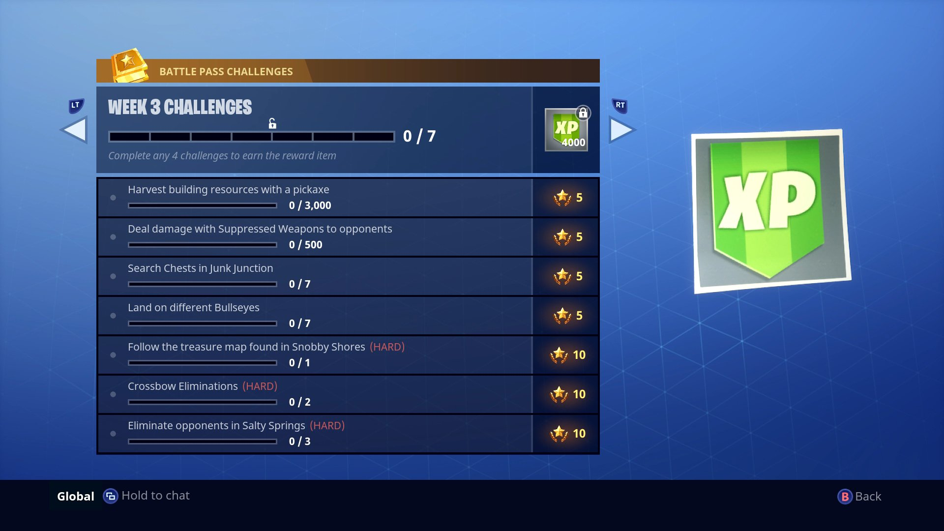 Season 3 - Week 3 Challenges | Fortnite INTEL