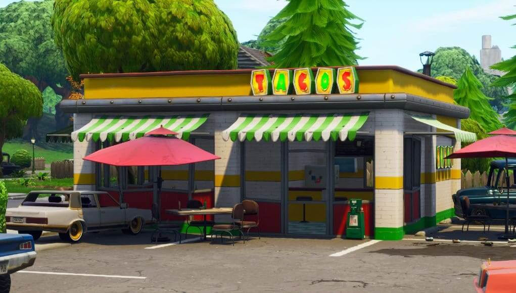 Taco Shop Locations For The Week 9 Challenge Fortnite Intel