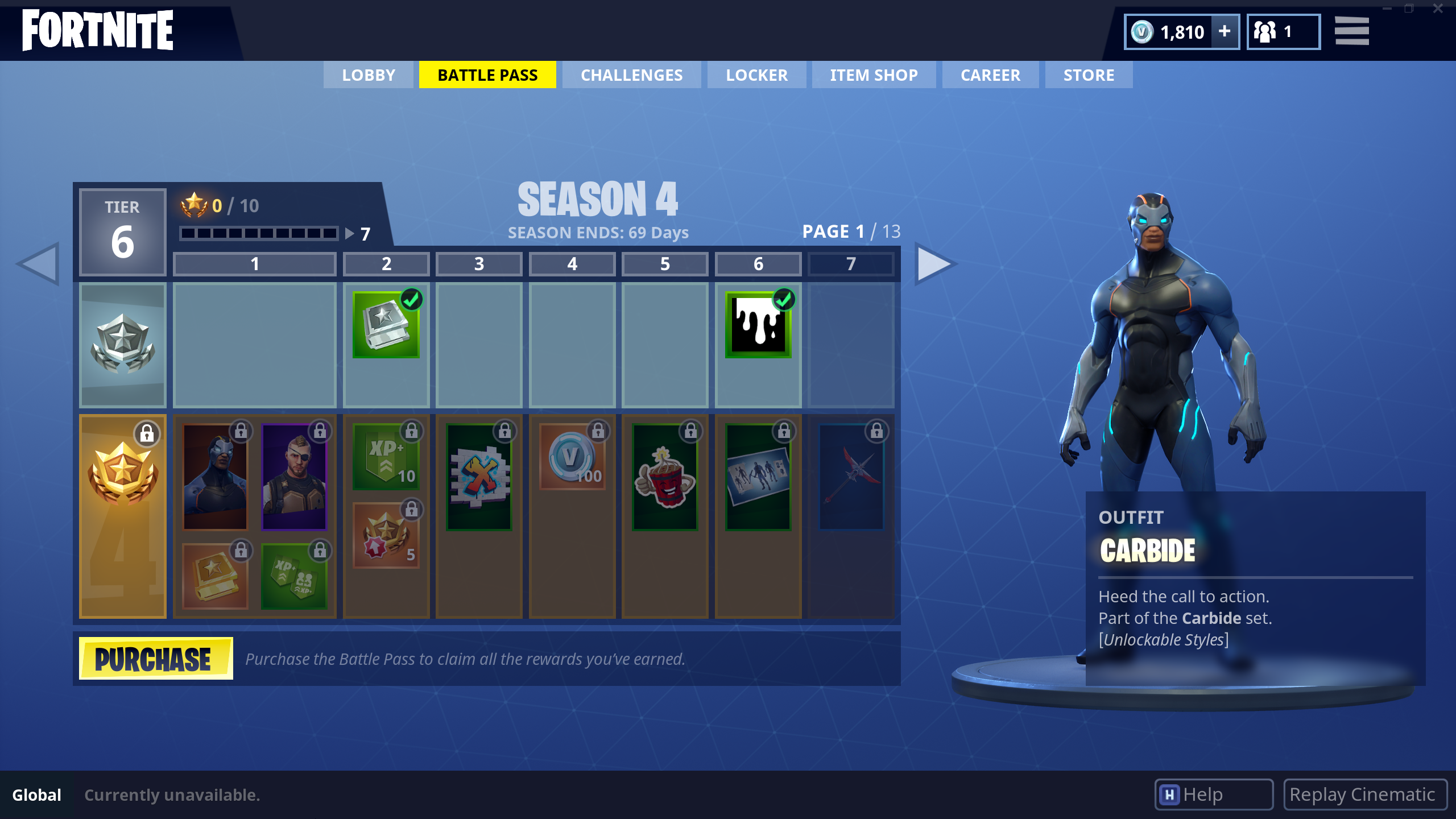 All Season 4 Battle Pass Skins Fortnite Intel