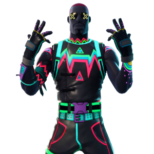 liteshow uncommon and nitelite uncommon - fortnite nitelite skin png