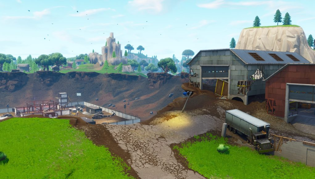 Fortnite Season 4 Map Updates Meteor Has Hit Dusty Depot Risky