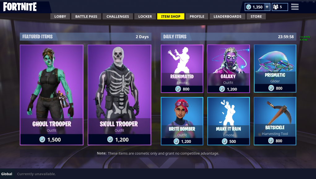 community artist gives the item shop a spectacular makeover by - what is the item shop right now in fortnite