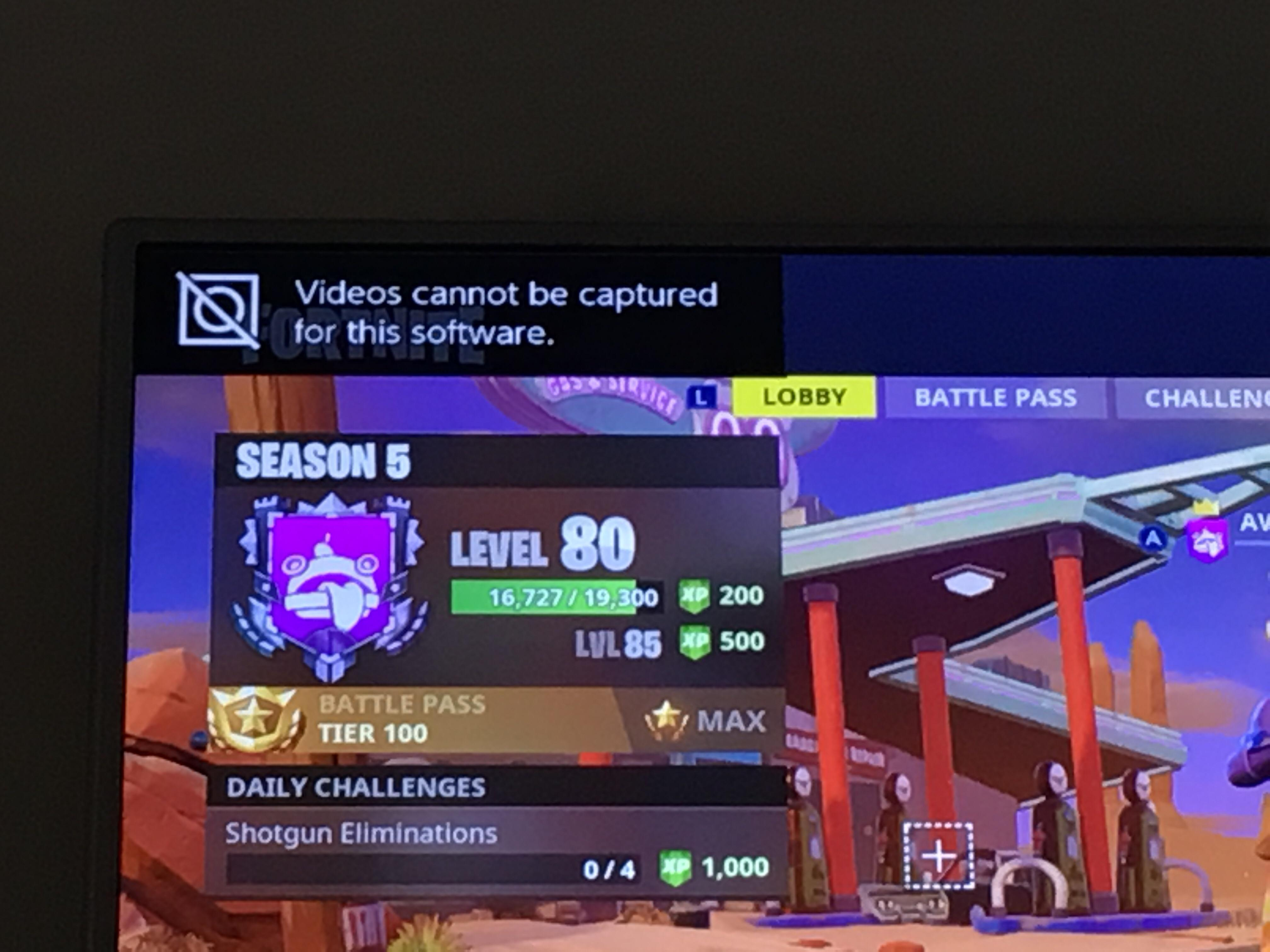Epic Games Disable Fortnite Video Capture On Switch Due To Performance Issues Fortnite Intel