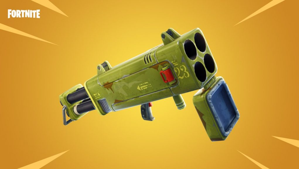 Fortnite's Quad Launcher teased for battle royale through today's in-game message