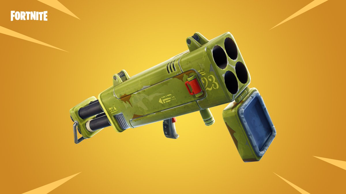 Fortnite Patch v6.02 Introduces the Quad Rocket Launcher and Disco Domination LTM