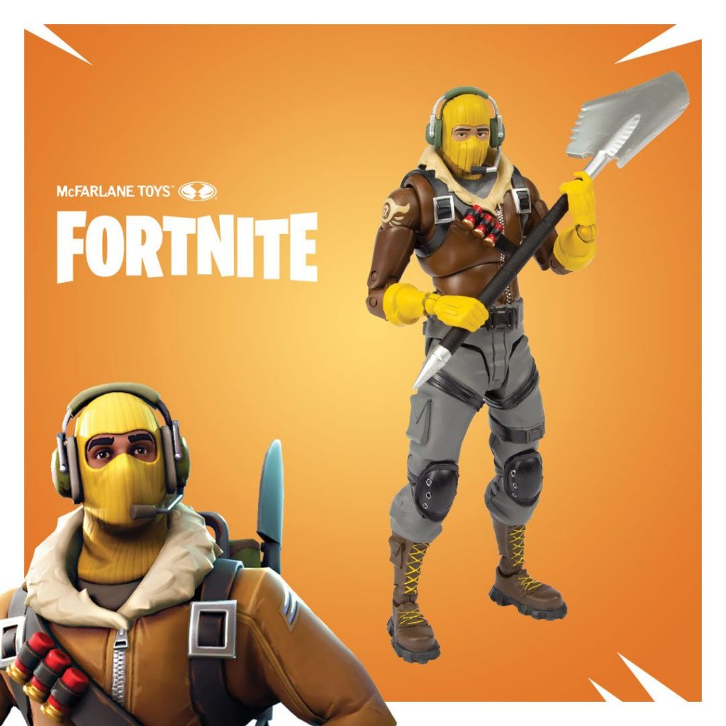 Fortnite X Mcfarlane Toys Premium Action Figures And Pickaxe