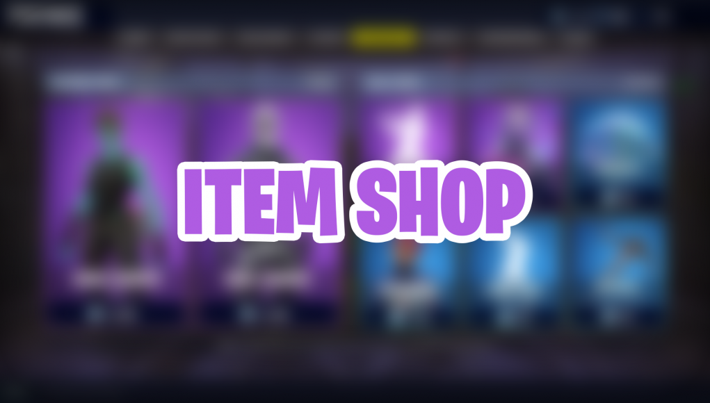 item shop live fortnite