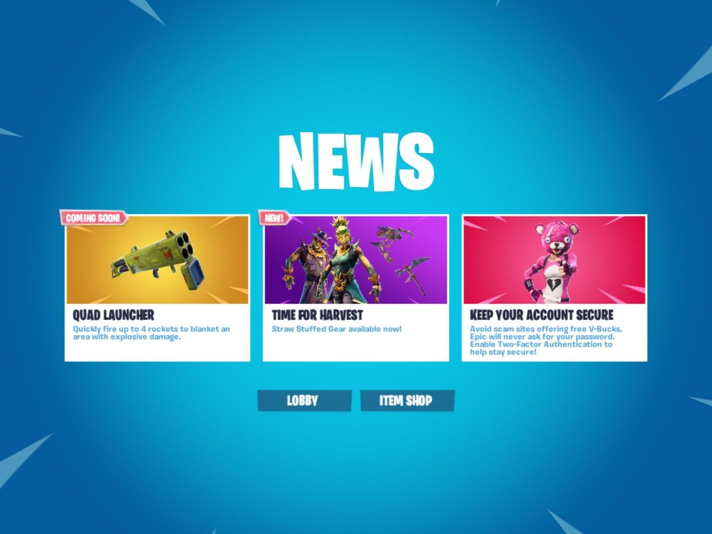 Fortnite Update 6.02 Added Disco Domination and Quad Rocket Launcher