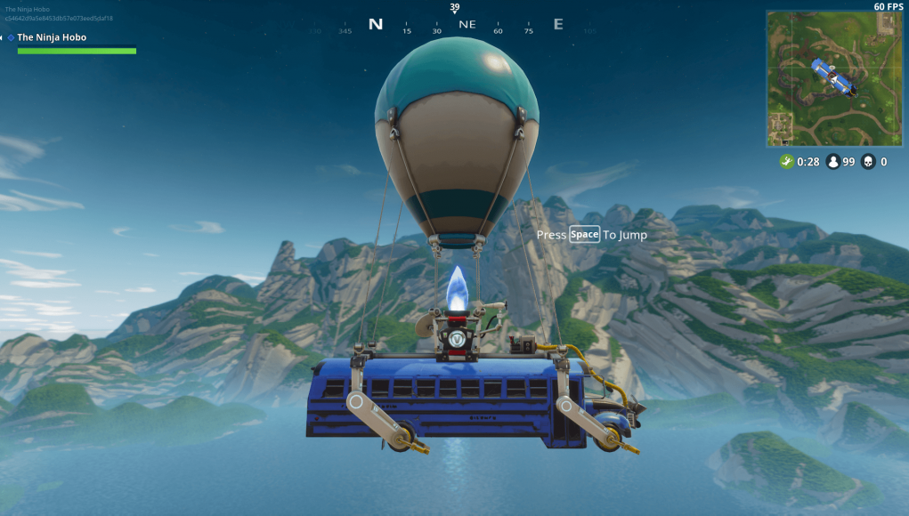 Fortnite S Battle Bus Has Received A Buff Fortnite Intel