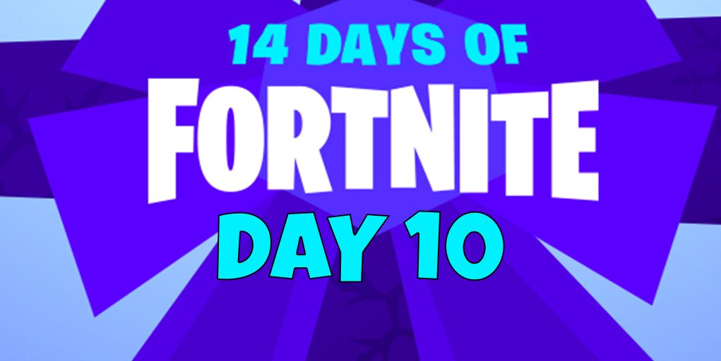 How To Complete The Day 10 14 Days Of Fortnite Challenge Land A