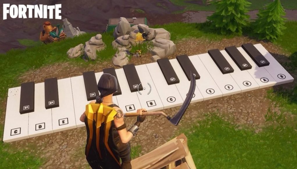 How to Complete the Sheet Music Piano Challenge in Fortnite