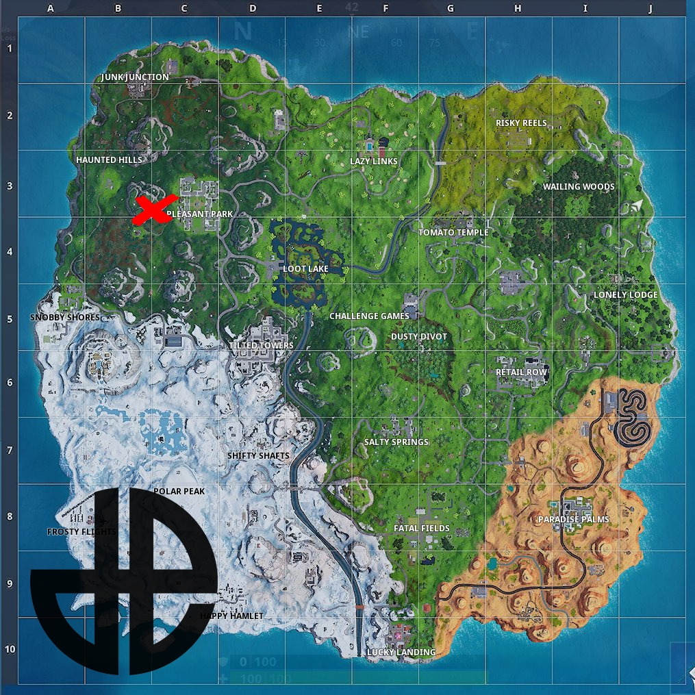 'Fortnite' Sheet Music, Piano & Abandoned Mansion Location Week 2 Challenge Guide