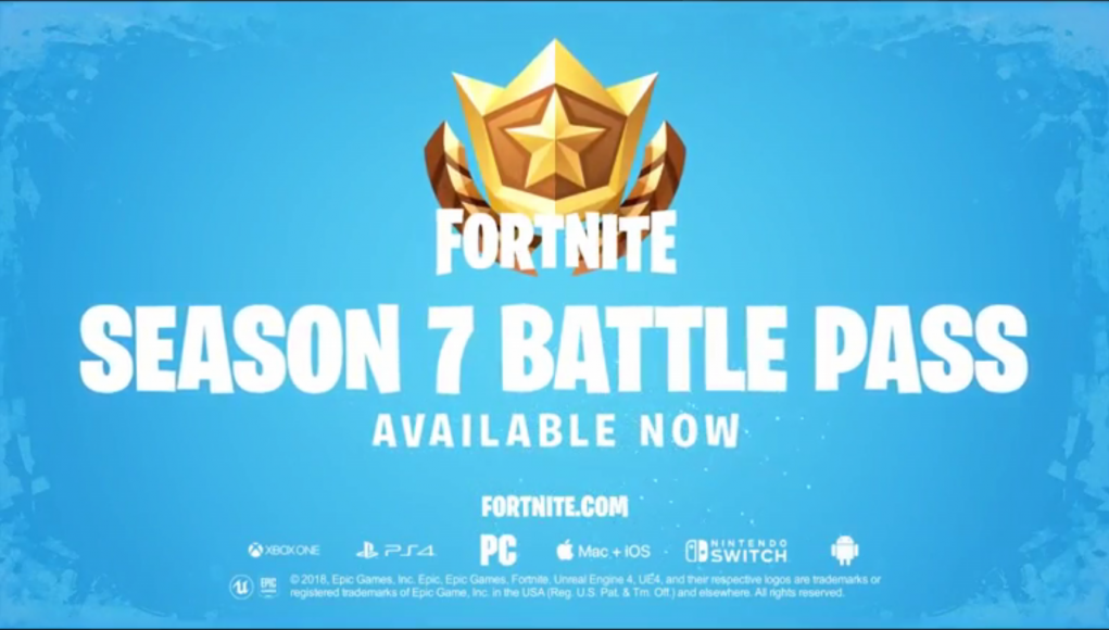 Fortnite Season 7 Battle Pass Trailer Fortnite Intel