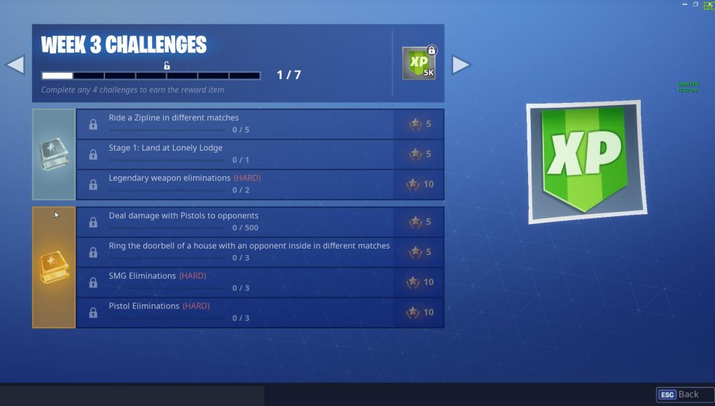 Fortnite Season 7 Week 3 Challenges Leaked Fortnite Intel
