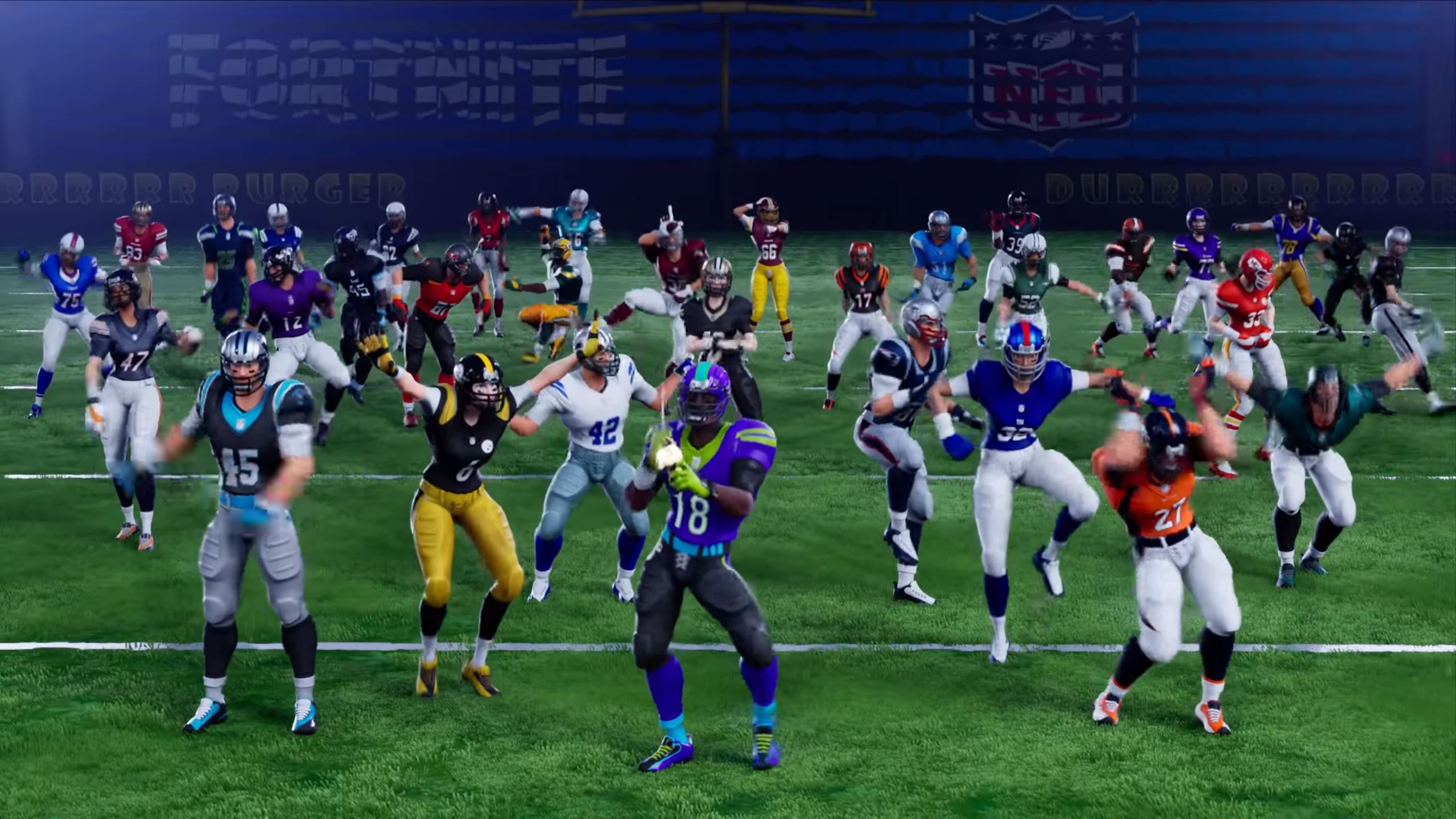 Fortnite NFL Super Bowl Skins