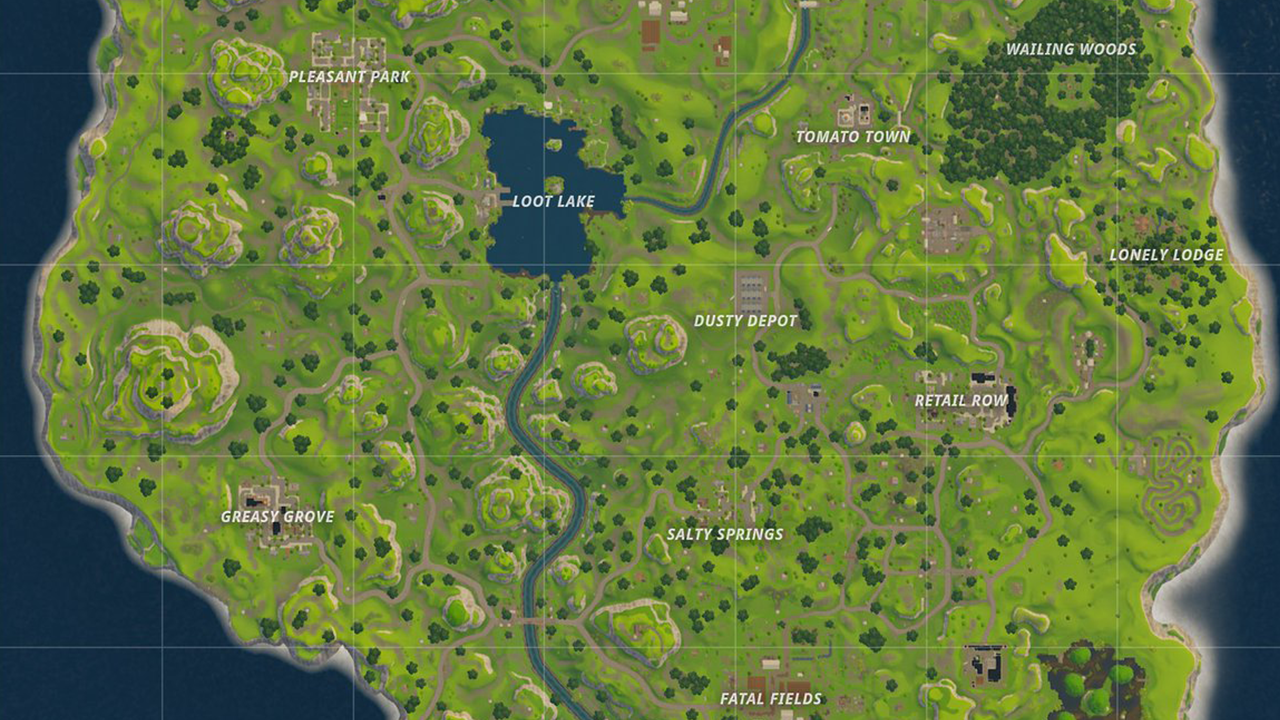 Fan Made Map Shows When Each Fortnite Point Of Interest Was Added