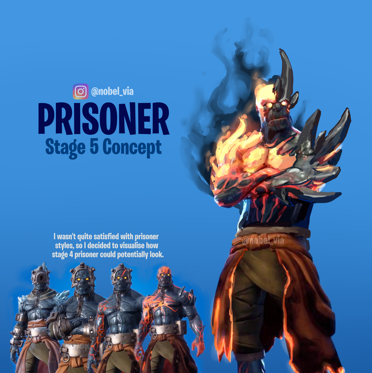 Fortnite Prisoner Stage 5 Concept
