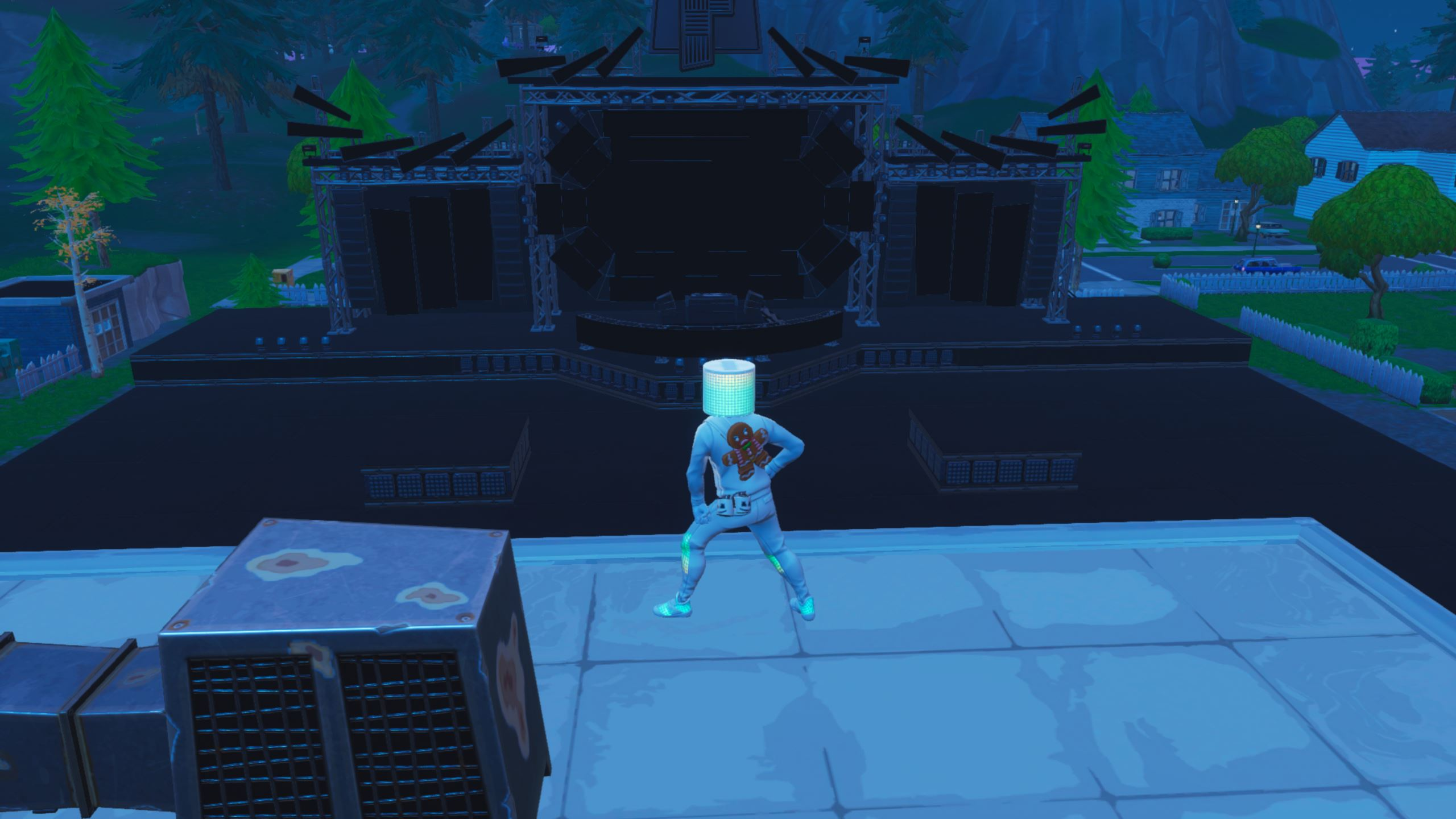 Fortnite Stage Pleasant Park