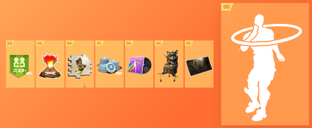 Fortnite Season 8 Battle Pass - Tiers, rewards, trailer and
