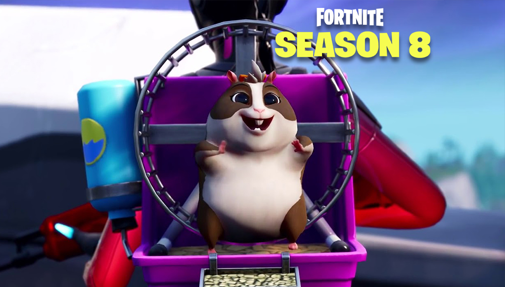 leaked hamster ball vehicle could becoming to fortnite season 8 - new fortnite vehicles season 8