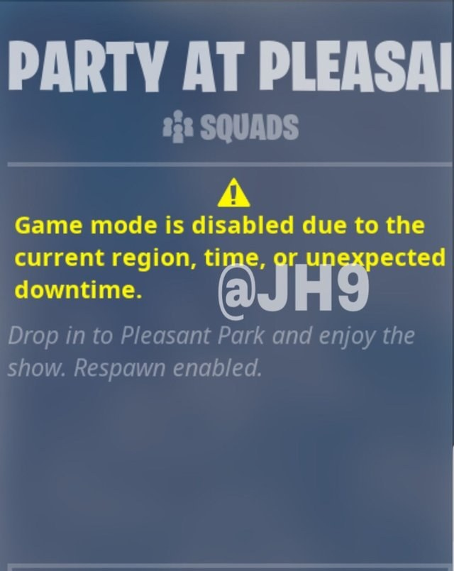 Party at Pleasant Park Fortnite LTM