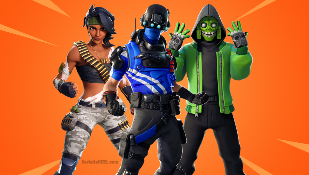 Fortnite Season 8 v8 00 leaked cosmetics - Skins, Pickaxes