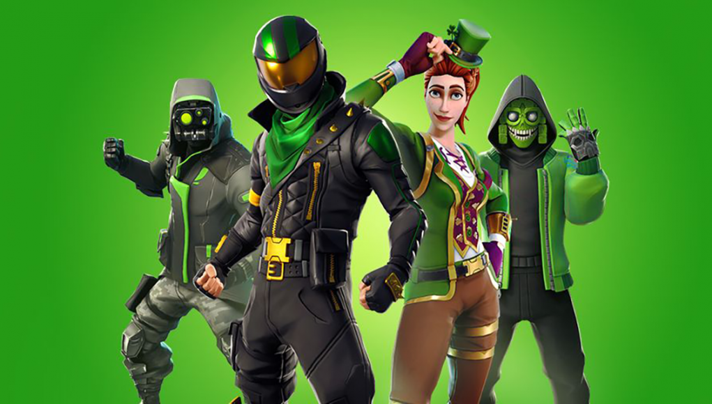 Going Green Limited Time Mode Now Live In Fortnite For St Patrick S - going green limited time mode now live in fortnite for st patrick s day