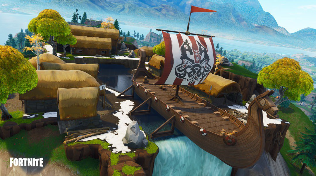 Fortnite Viking Ship ESL Katowice Royale
