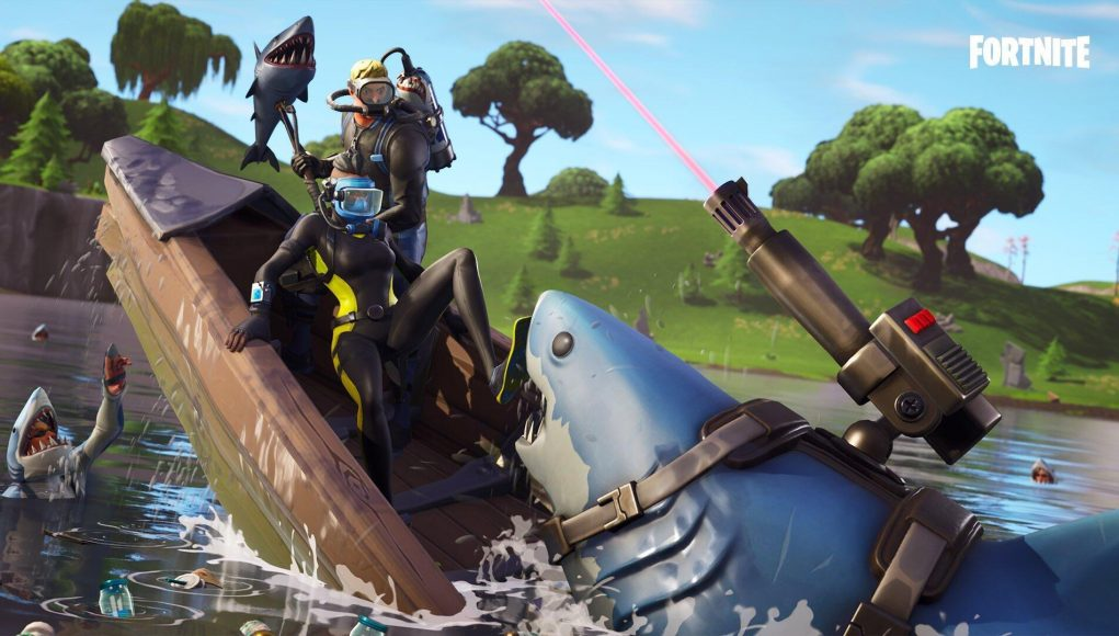 fortnite season 8 week 3 challenges leaked - fortnite abstrakt loading screen