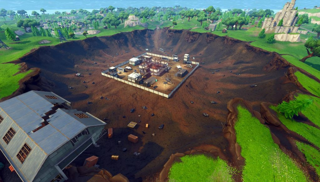 the dig site in fortnite has been cleared new volcano vent uncovered - excavation site fortnite