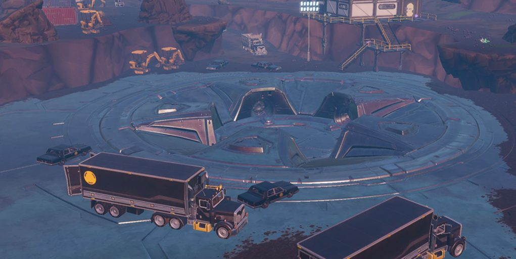 loot lake s excavation site reveals a possible hint towards fortnite season 9 - excavation sites fortnite