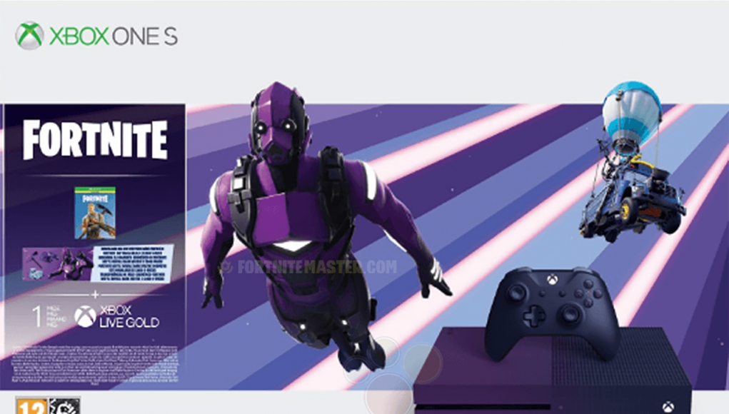 Xbox One S Fortnite Special Edition Bundle Coming This Friday