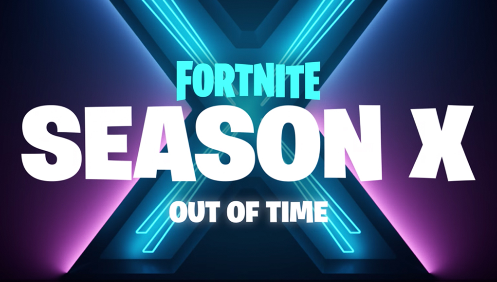 Fortnite Season X's patch notes were about to be released.
