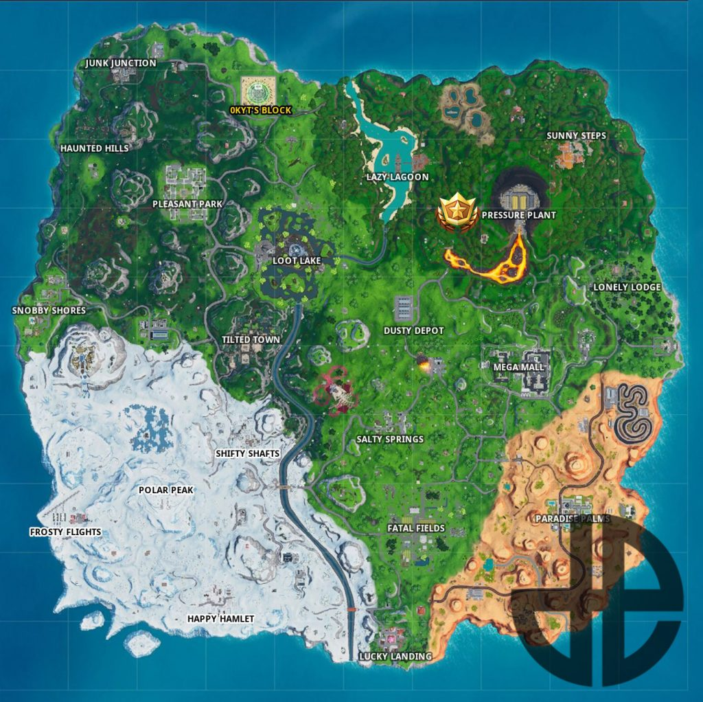 Fortnite Season 10: Secret Star Position of Week 9
