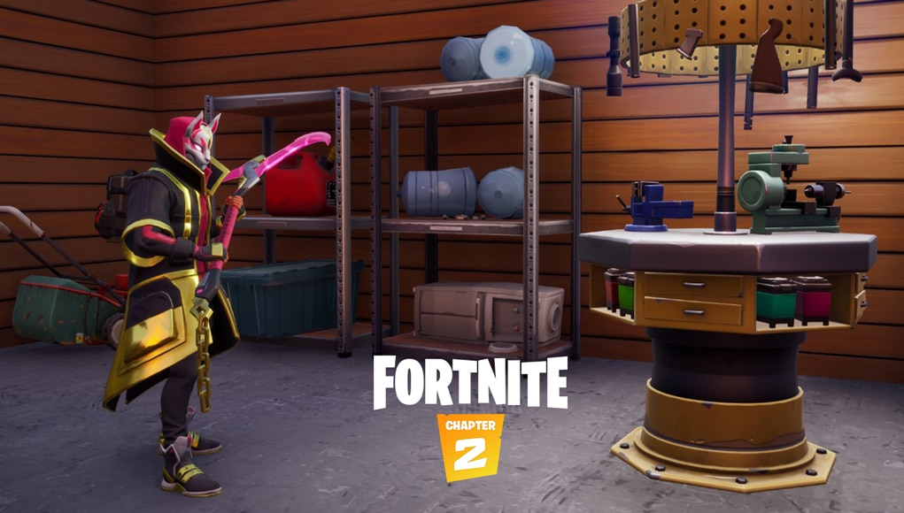 Fortnite Weapon Upgrade Benches Could Improve By Enhancing