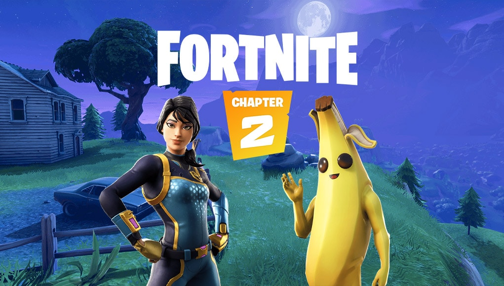 Fortnite Chapter 2's brand new world has fans excited to drop in