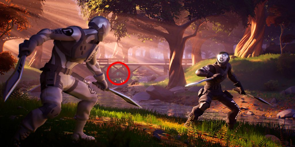 Fortnite 'Trick Shot' hidden T location | Fortnite INTEL