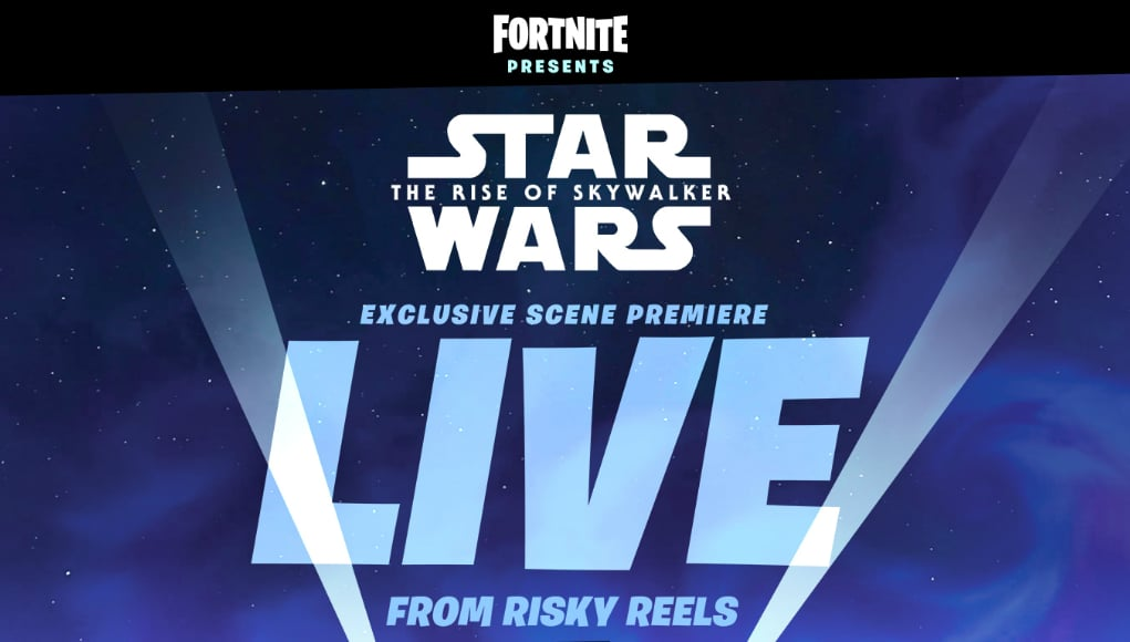 Fortnite gamers flock to get sneak peek of 'Star Wars' movie