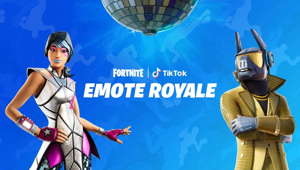 Fortnite partner with TikTok for Emote Royale contest