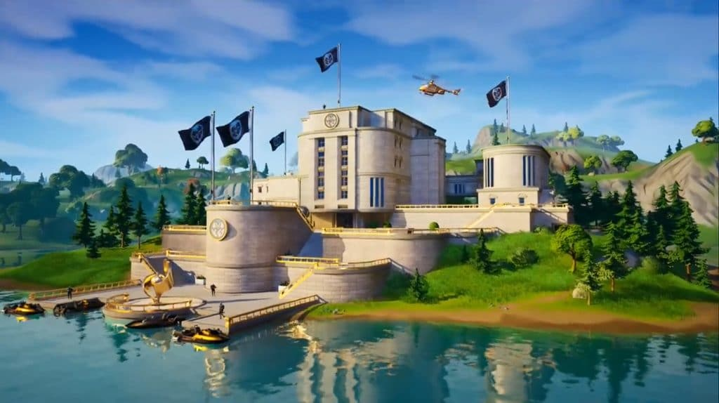 The Agency POI in Fortnite