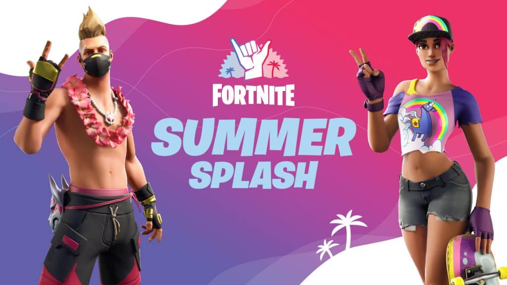 Fortnite's Summer Splash banner.