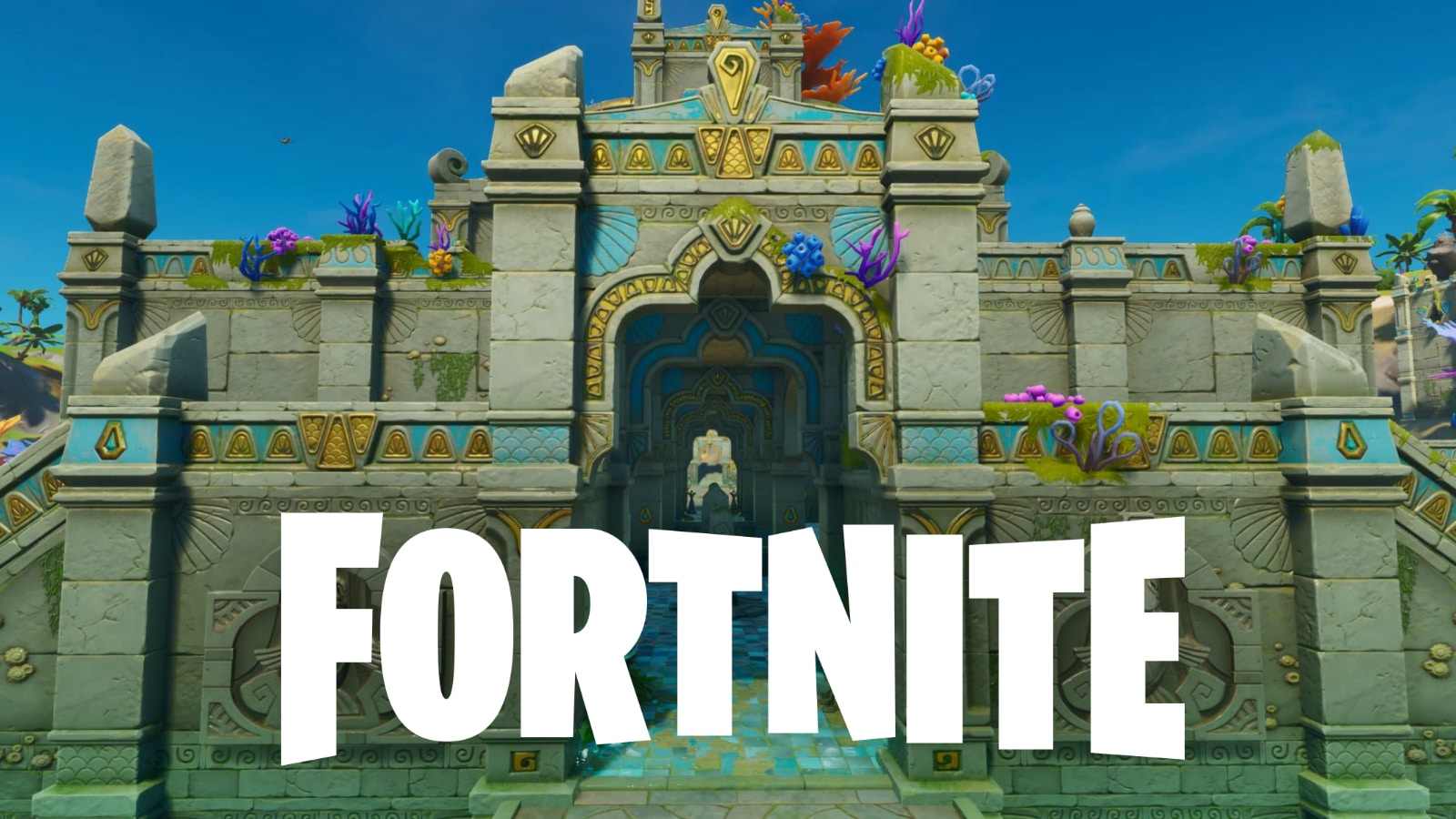 Coral Castle in Fortnite