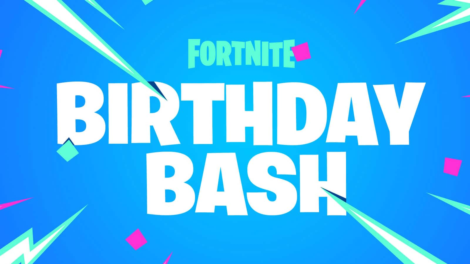 Fortnite Birthday Bash logo