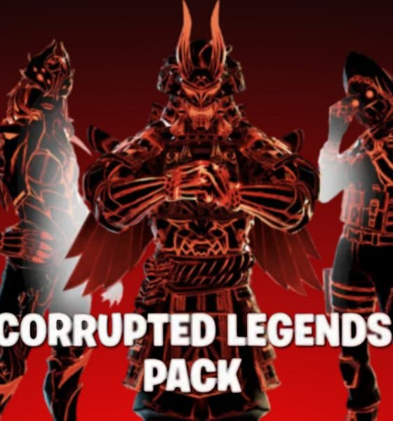 Corrupted Legends pack