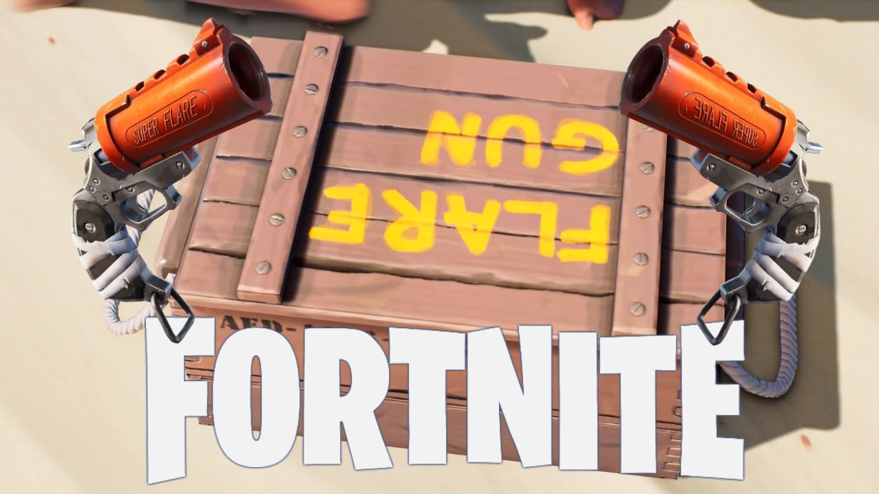 Fortnite leak shows buffed Flare Gun
