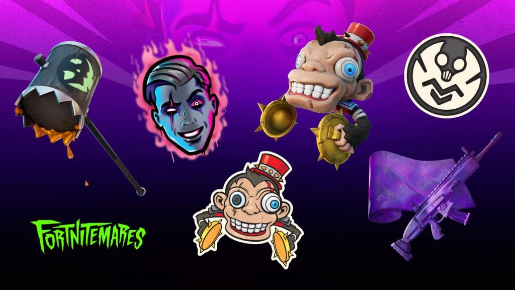 Fortnitemares Challenge Rewards