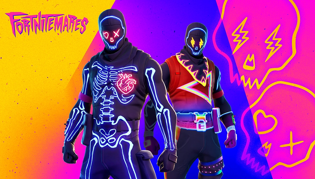 New Skull Trooper Fortnitemare characters.