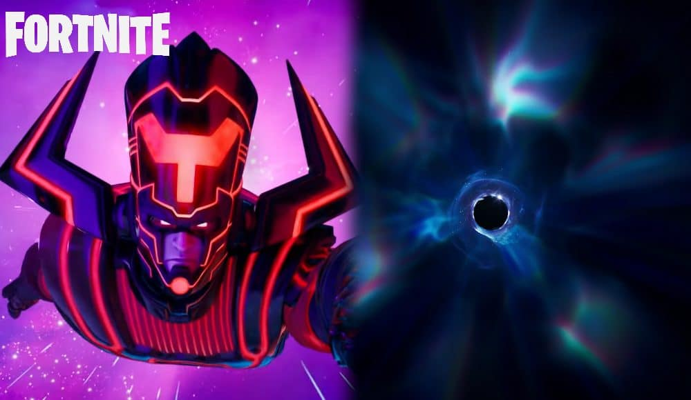 Fortnite Leaks Link Galactus Event To The Black Hole Travis Scott Technobhaskar Com Season 5 of fortnite is only one week old and a new unreleased weapon has already seemingly been leaked. fortnite leaks link galactus event to