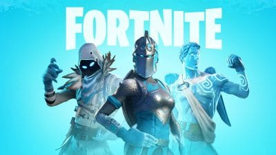 Frozen Legends Pack with Fortnite logo